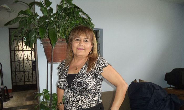 Lima, Peru: Elizabeth Cabero, 50, Psychologist: I would recommend growing your own fruit and vegetables, if the person has a place and the time, but now most people are busy with their personal activities or work. They would eat healthier since they wouldn't be exposed to any toxic substances that are used today. Most [people] would choose natural fertilizers or organic vegetables and fruit plants. It is a good idea, but you have to dedicate yourself to it. As a psychologist, I would recommend this activity to the elderly, because it is a good therapy and is stimulating.