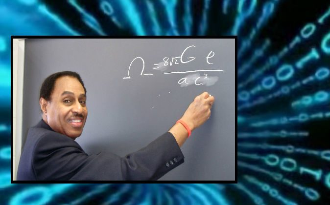 Dr. Ron Mallett, who has mathematically shown binary messages could be sent to the future. (Courtesy of Dr. Ron Mallett)