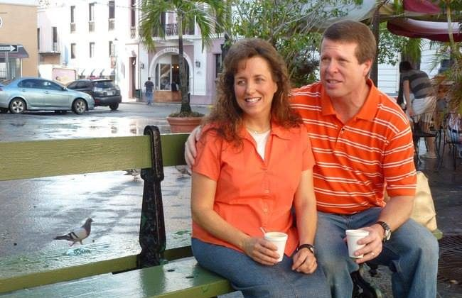 Michelle and Jim Bob Duggar in a photo from earlier this year. (Duggar Fmaily)