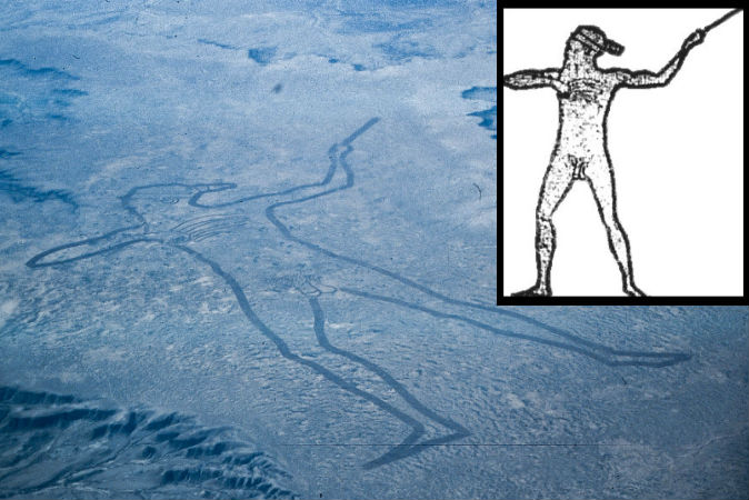 The Mysterious Marree Man Of Outback Australia Geoglyph