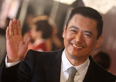 Actor Chow Yun-fat of Hong Kong poses on the red carpet of the Hong Kong Film Awards on April 17, 2011. The annual awards are the Hong Kong equivalent to the Oscars and the British BAFTAS. (Dale de la Rey/AFP/Getty Images)