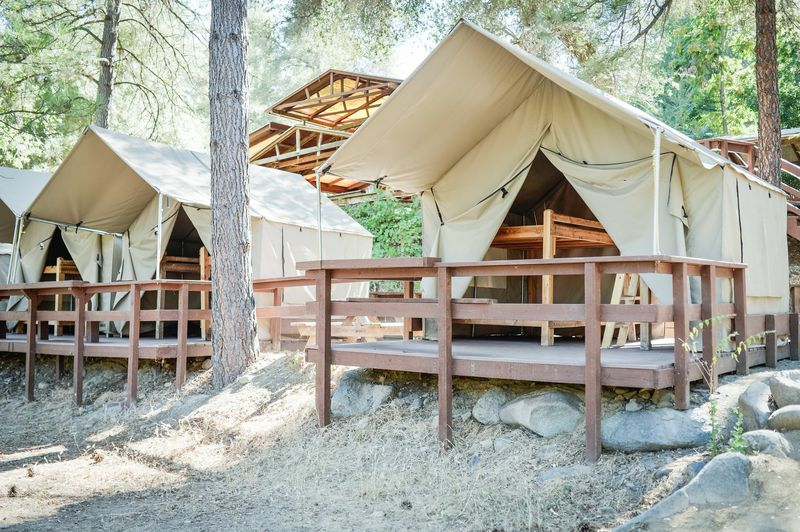 Tents in California (Eluxe Magazine)