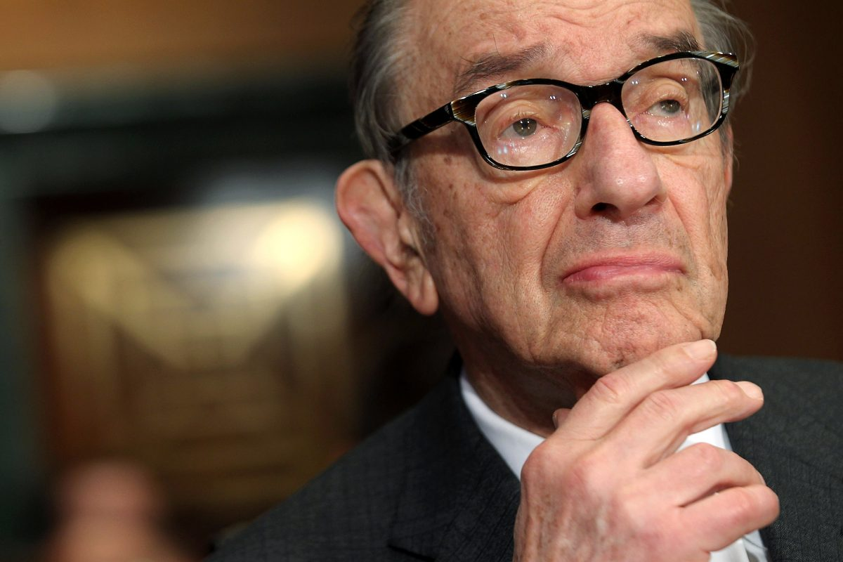 the leadership and influence of alan greenspan chairman of the federal reserve board Free online library: statement by alan greenspan, chairman, board of governors of the federal reserve system, before the committee on banking, housing, and urban.