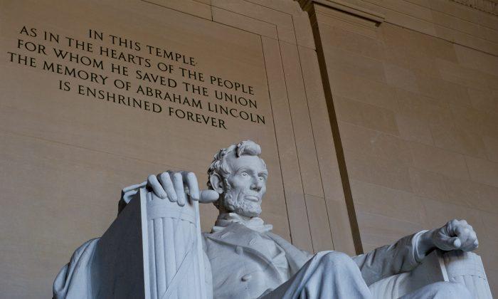 The Lincoln Memorial in Washington, D.C. (Karen Bleier/AFP/Getty Images)