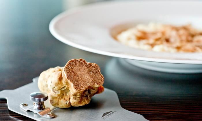 White truffle at Lincoln Ristorante. (Courtesy of Patina Group)