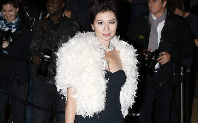 Hong Kong actress Cherie Chung poses on October 8, 2013 as she arrives at the Beaux Arts (Fine Arts) school in Paris to attend a dinner organized by US fashion designer Ralph Lauren to celebrate his sponsorship with the school. (Francois Guillot /AFP/Getty Images)