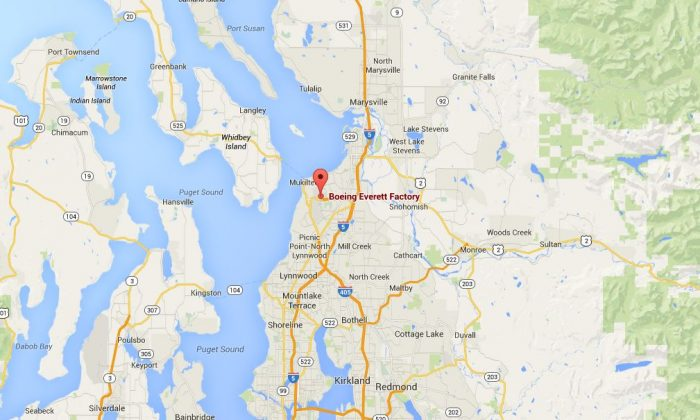 Reports on Thursday night indicate there's a man with a gun at a Boeing factory in Everett, Washington.