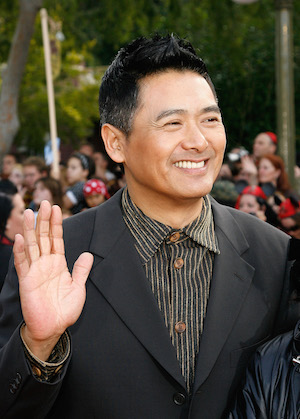"Actor Chow Yun-Fat attends the premiere of Walt Disney's ""Pirates Of The Caribbean: At World's End"" held at Disneyland on May 19, 2007 in Anaheim, California.  Proceeds from the world premiere of Walt Disney's ""Pirates Of The Caribbean: At World's End"" will benefit the Make-A-Wish Foundation of America and Make-A-Wish International.  (Vince Bucci/Getty Images)"