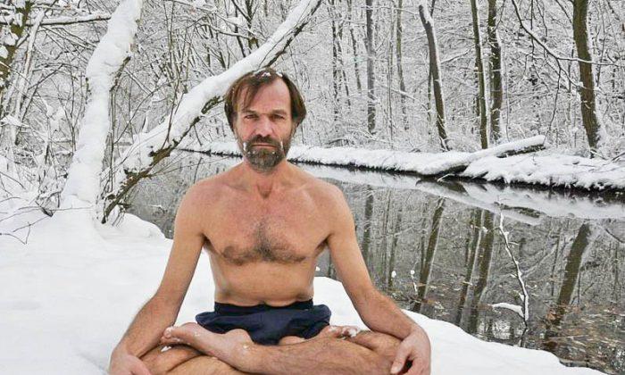 Wim Hof, also known as the 'Ice Man.' (Enahm Hof/IcemanWimHof.com)