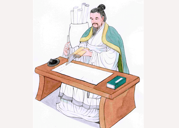 Sima Qian, author of the first full history of China, believed that a historian should be independent and produce an objective and thorough account of historical events. (Blue Hsaio/Epoch Times)