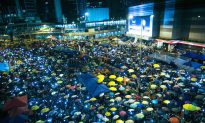 Under the Umbrella: A Hong Kong Occupy Central Photo Montage