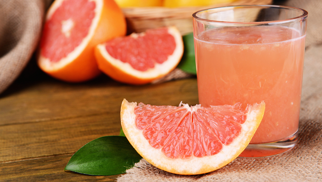 (Grapefruit via  Shutterstock*)