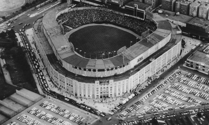 Yankee Stadium in the Bronx, New York City, circa 1965. The stadium is the home of the New York Yankees baseball team. (Agence France Presse/Getty Images)