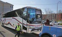 Redskins Bus Crash Prompts Police to Suspend Escorts