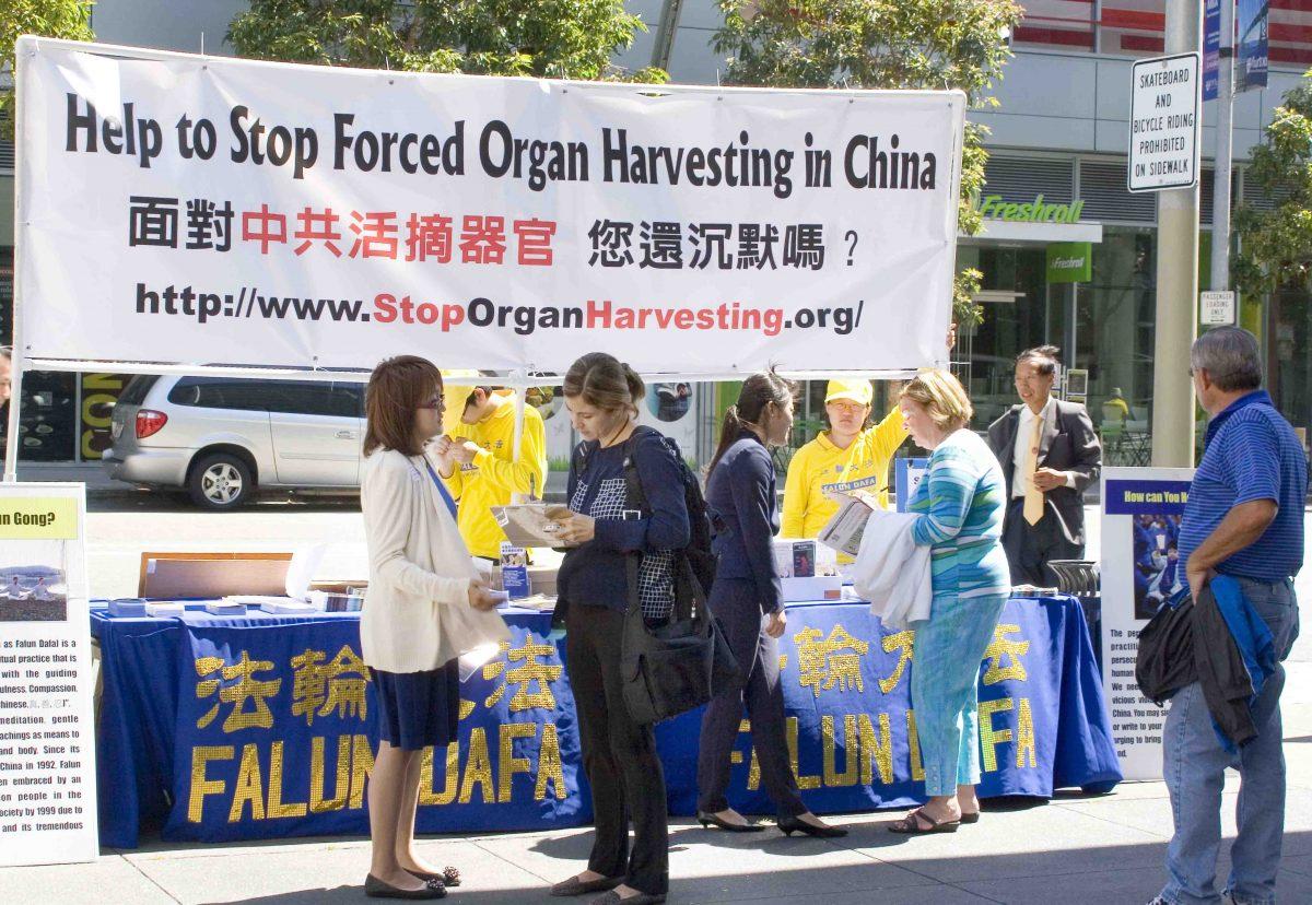 organ harvesting in china essay