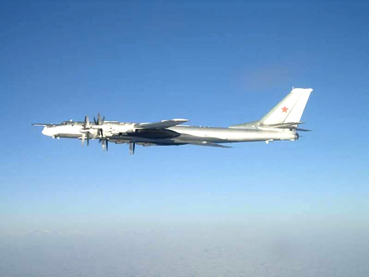 U.S. says Russian fighter conducted unsafe intercept