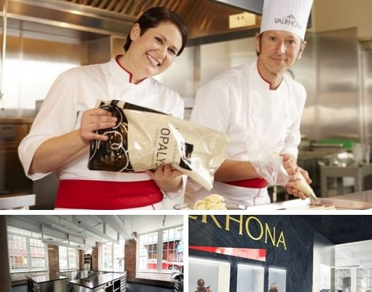 L'Ecole du Grand Chocolat Valrhona, so far focused on classes for professionals, will now offer classes to home bakers. (Courtesy of Valrhona)