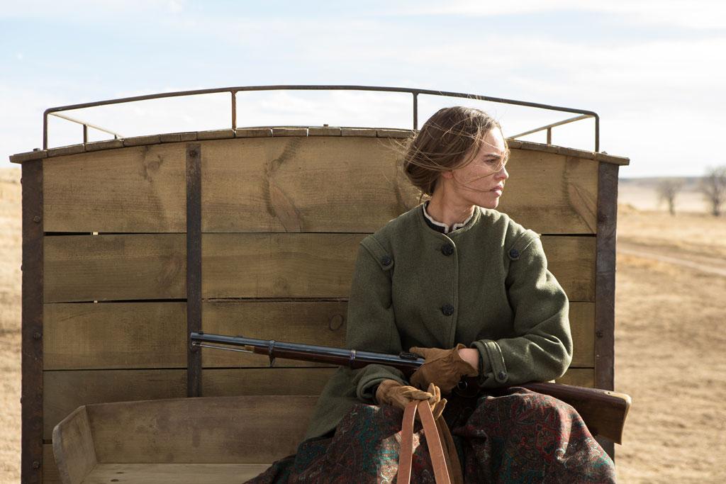 pioneer woman 1800s hair. hilary swank as pioneer woman mary bee cuddy in 1800s hair
