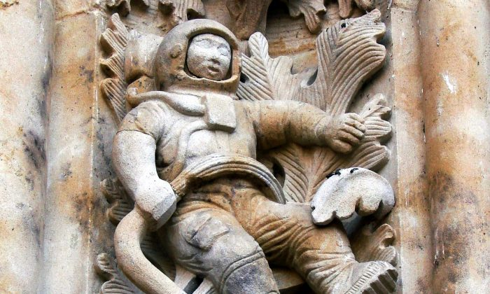 Ancient aliens mysteries of the salamanca cathedral