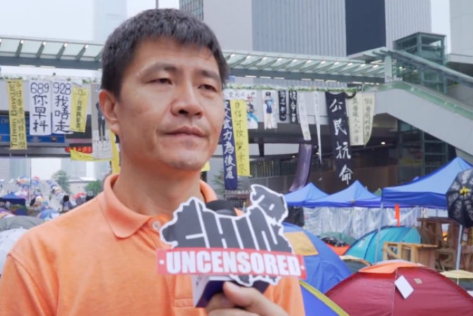 Hong Kong Uncensored: Tiananmen Student Leader Reflects on Umbrella Movement