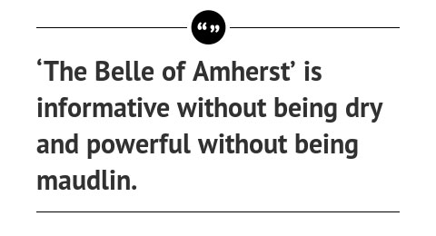 Article Quote: 'The Belle of Amherst'