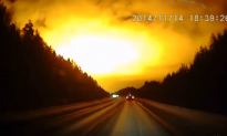 Mysterious Fireball Caught on Dashcam in Russia (Video)