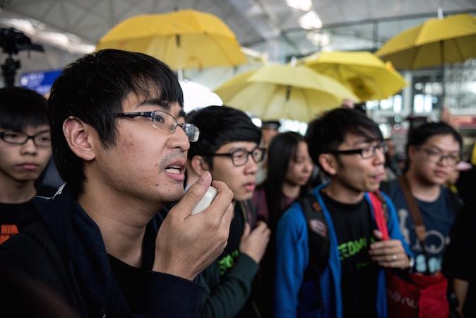 Joshua Wong's Girlfriend Latest Hong Kong Teen Activist Facing Travel Troubles