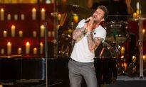 Academy Picks First Performer Adam Levine to Sing 'Lost Stars'