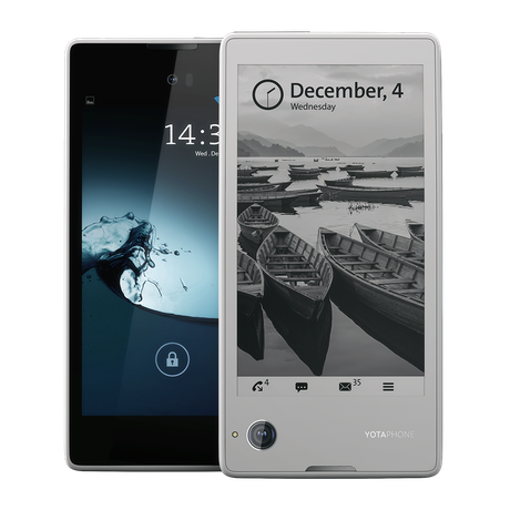 Check Out YotaPhone 2, An Innovative Dual Screen Smartphone