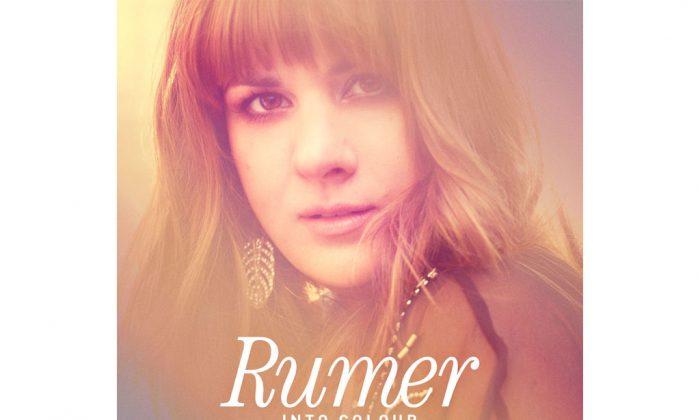 The cover of Rumer's album 'Into Colour.' (Atlantic)