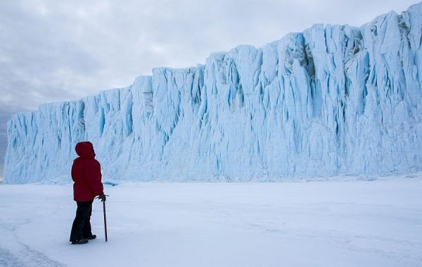Christine Powell in âAntarctica: A Year On Ice.â (Music Box Films)