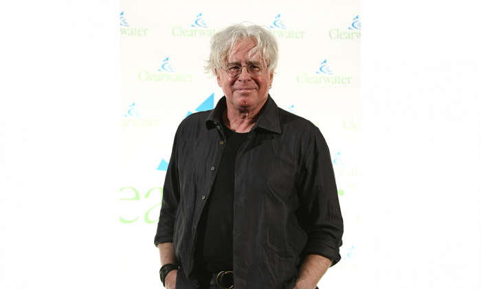 Singer-songwriter Bruce Cockburn attends the Clearwater Benefit Concert celebrating Pete Seeger's 90th birthday at Madison Square Garden on May 3, 2009, in New York City. (Neilson Barnard/Getty Images)