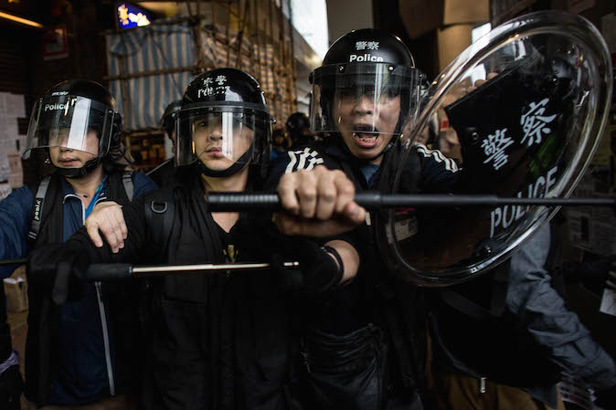 China Uncensored: The Police Brutality of Hong Kong's Umbrella Movement (+Ken Tsang Interview)