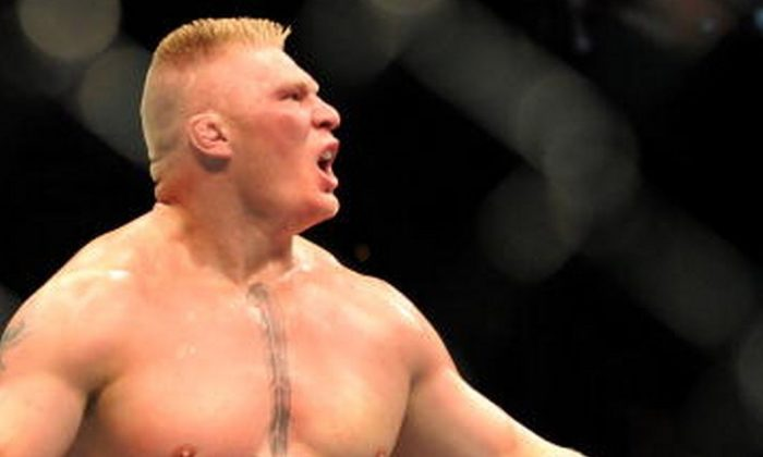 Brock Lesnar  (Photo by Jon Kopaloff/Getty Images)
