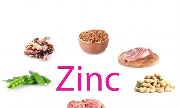 Red meat, lentils, and peanuts are all good sources of zinc. Shutterstock/Africa Studio