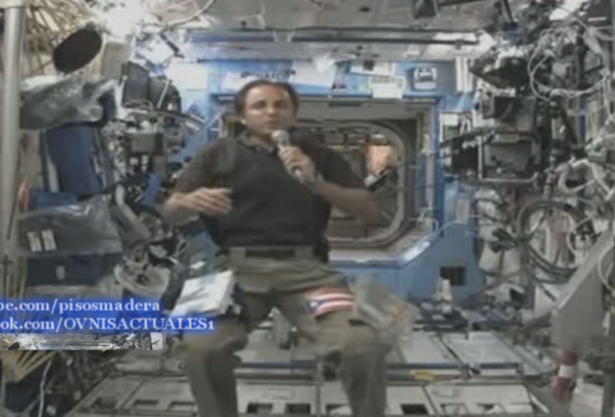 UFO Sightings: NASA Astronaut on ISS Asked About UFOs, Aliens
