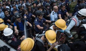Hongkonger's Trust in Police Shattered by Protest Violence
