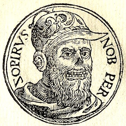 Zopyrus,  a Persian nobleman mentioned in Herodotus's Histories. (Wikimedia Commons)