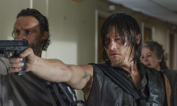 Daryl Dixon (Norman Reedus) in The Walking Dead. (Gene Page/AMC)