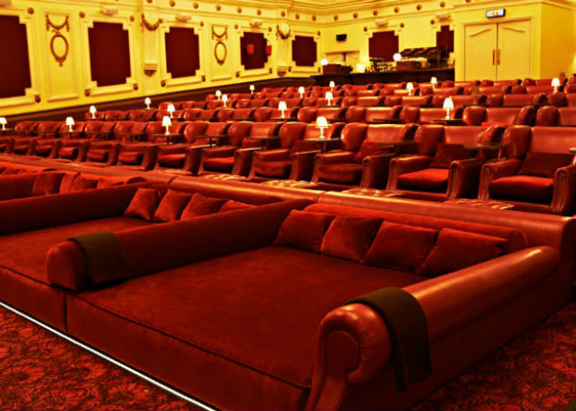 Movie Theaters That Will Let You Watch Their Films Bed Ikea Theater