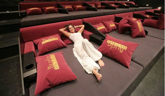 6 Movie Theaters That Will Let You Watch Their Films In Bed