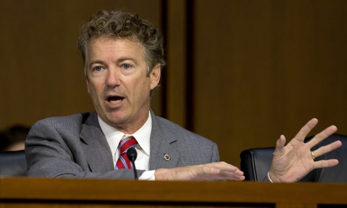 Sen. Rand Paul, R-Ky. (AP Photo/Carolyn Kaster, File)