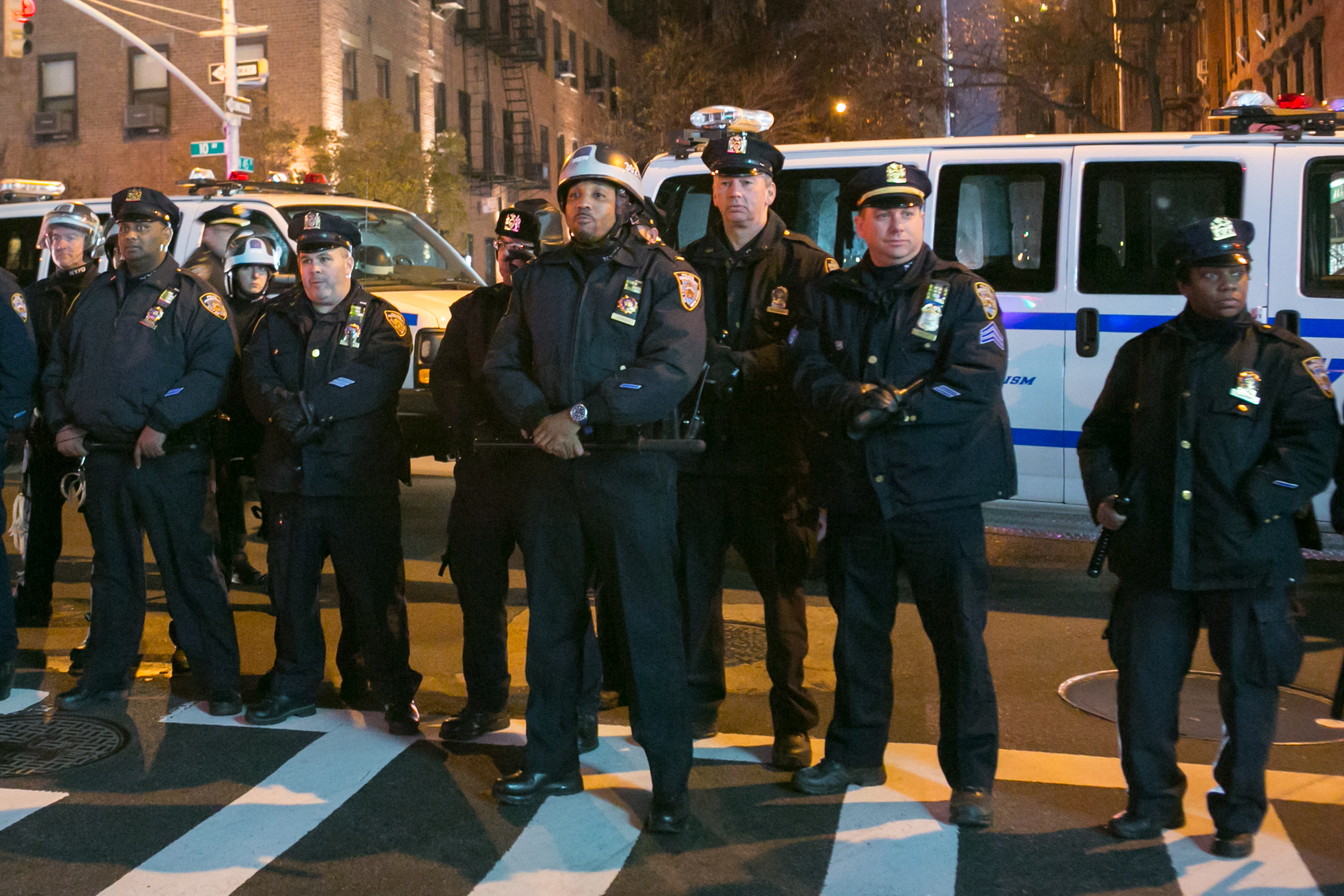 At NYC City Hall, Accountability for Police Violence Beces ...