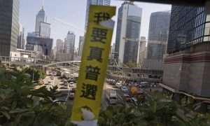 79 Days of Occupation: Umbrella Movement Interactive Timeline