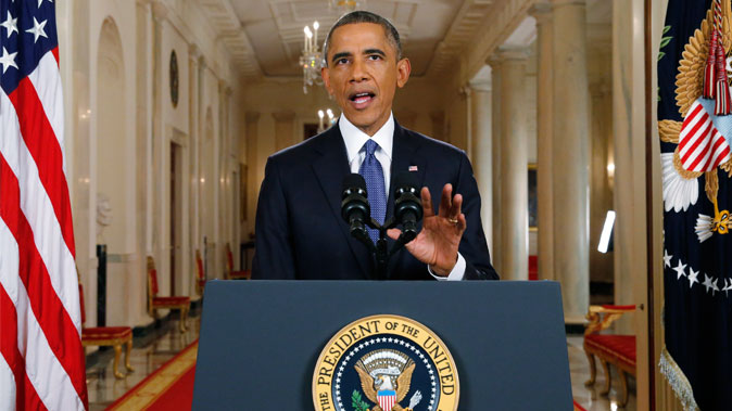 U.S. President Barack Obama announces executive actions on U.S. immigration policy at White House, on Nov. 20. A federal judge ruled this week that the president's new immigration practices were unconstitutional. (Jim Bourg/Getty Images)