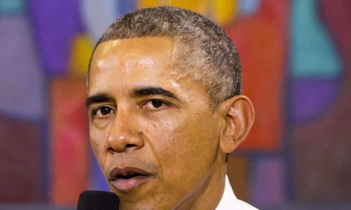 President Barack Obama speaks about his recent executive actions on immigration at Casa Azafran in Nashville, Tenn., on Dec. 9, 2014. A federal district court in Pennsylvania recently declared President Obama's immigration plan unconstitutional. (Jacquelyn Martin/AP Photo)