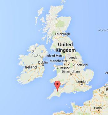 Devon, England. (Google Maps)