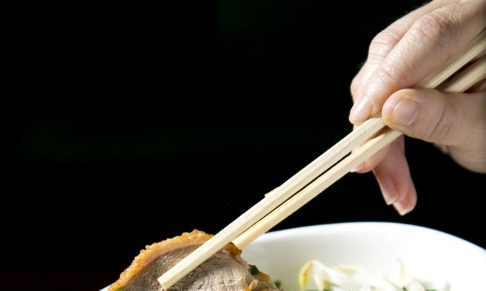Duck Noodles. (Samira Bouaou/Epoch Times)