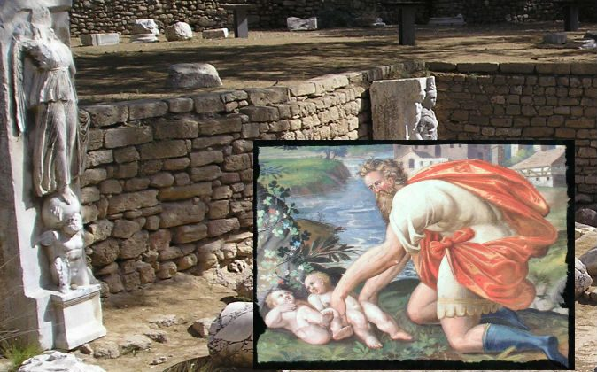 Mass Baby Grave Discovered Under Ancient Roman Bathhouse