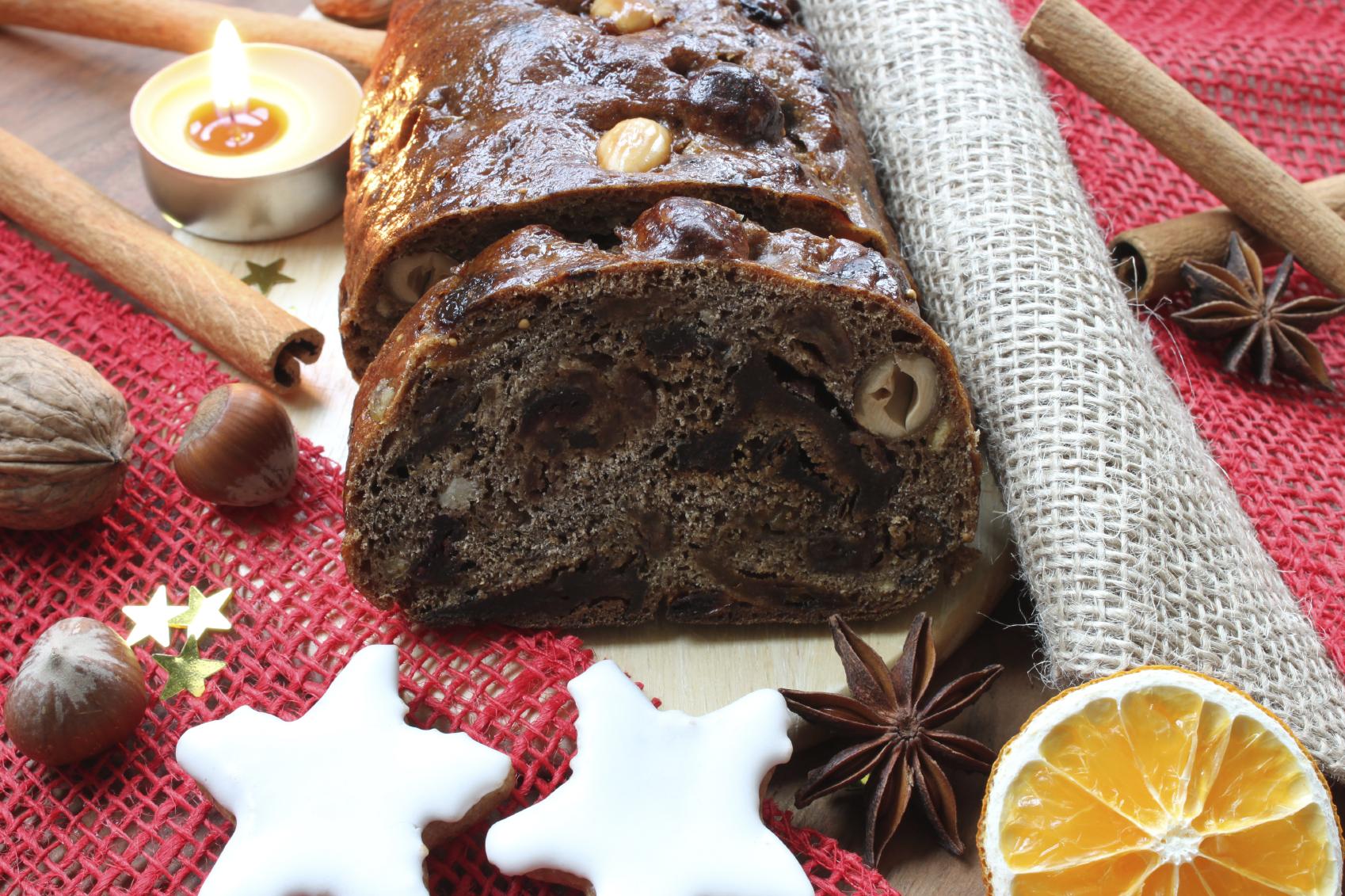 Vegan Cinnamon Date Quick Bread